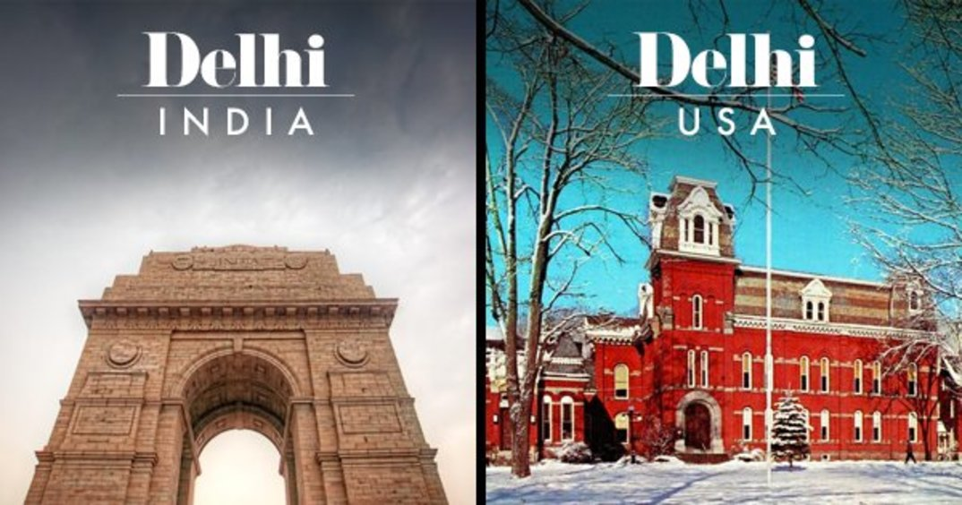 14 Places Around The World That Share Their Names With Famous Indian Cities